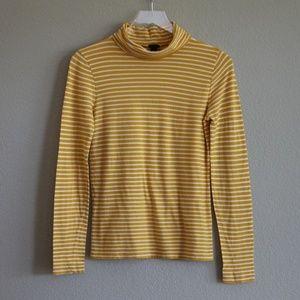 J.CREW | Tissue Turtleneck T-shirt S